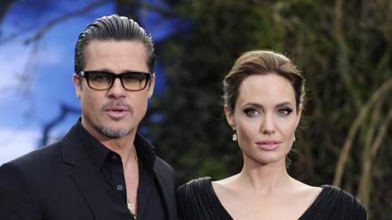 Angelina Jolie e Brad Pitt. Epa
