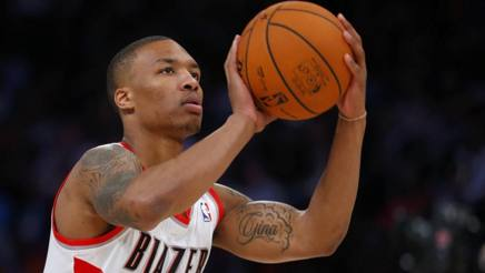 Damian Lillard, 26 anni. Action Images