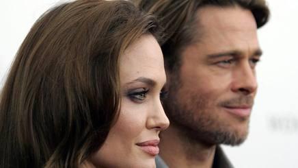 Angelina Jolie, 41 anni, e Brad Pitt, 52. Reuters