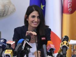 Virginia Raggi, sindaco di Roma: Ansa