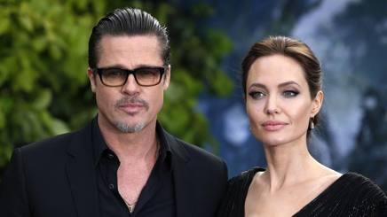 Brad Pitt, 52 anni, e Angelina Jolie, 41. LaPresse