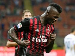 M'Baye Niang, attaccante francese del Milan. Reuters