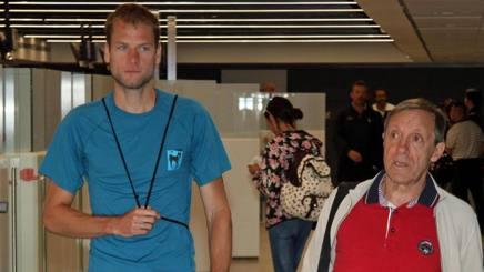 Il rientro  in Italia di Alex Schwazer e Sandro Donati dopo il viaggio a vuoto a Rio. Ansa