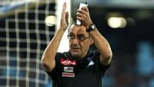 Maurizio Sarri, seconda stagione al Napoli. Reuters