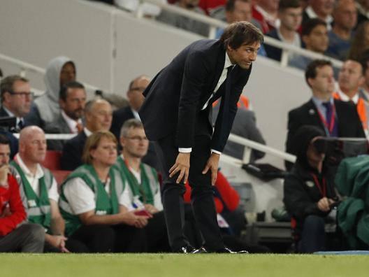 La delusione di Antonio Conte. Reuters