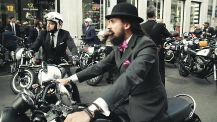Una edizione passata della Distinguished Gentleman's ride