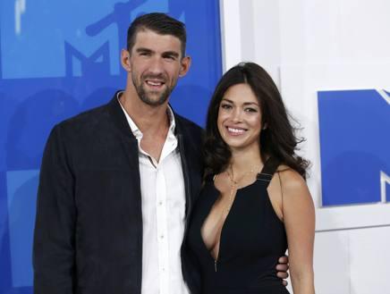 Michael Phelps e la moglie Nicole