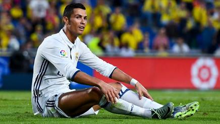 """Real, Ronaldo sostituito e arrabbiato. Zidane: """"Giusto riposare ogni tanto"""""""