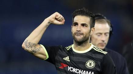 Cesc Fabregas, centrocampista offensivo spagnolo del Chelsea. Reuters