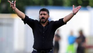 Il tecnico del Pisa Gennaro Gattuso, 38 anni. LaPresse