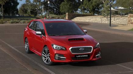La Subaru Levorg protagonista della prova