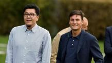 Javier Zanetti, sulla destra