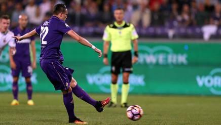 L'errore di Josip Ilicic dal dischetto contro il Milan Getty