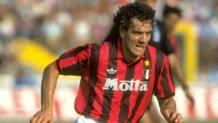 Roberto Donadoni ai tempi del Milan