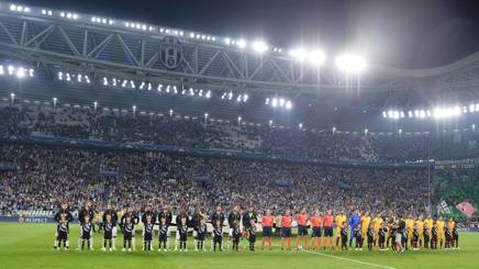 Lo Stadium  pieno per Juventus-Siviglia. Ansa