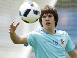 Ante Coric, 19 anni, � stato convocato all'Europeo 2016. Reuters