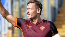 Francesco Totti:, 40 anni oggi. Ansa