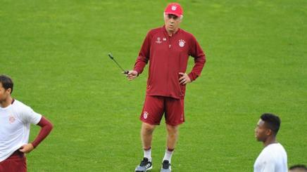 Il tecnico del Bayern Carlo Ancelotti. Getty