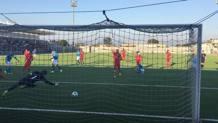 Il gol del momentaneo 2-2 di De Simone. Twitter