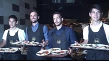 Un'immagine della serata di beneficienza organizzata dalla Lazio