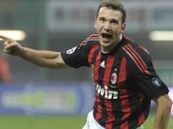 Andriy Shevchenko, 40 anni oggi, ai tempi del Milan