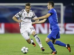 Marko Pjaca, 21 anni, in azione contro la Dinamo Zagabria. Ap
