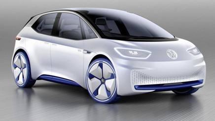 Il nuovo modello concept elettrico della Volkswagen, l'I.D.