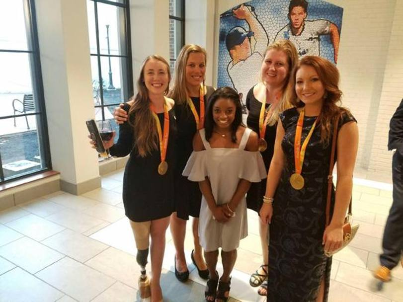 Simone Biles e le altre nominate al Team Usa Awards dopo il red carpet