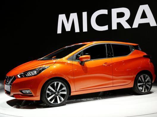 La nuova Nissan Micra. Reuters