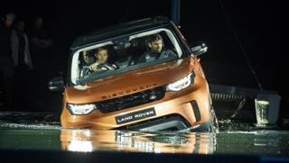 La presentazione della nuova Land Rover Discovery. Getty