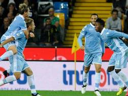Lazio in festa, Udine � espugnata. Getty