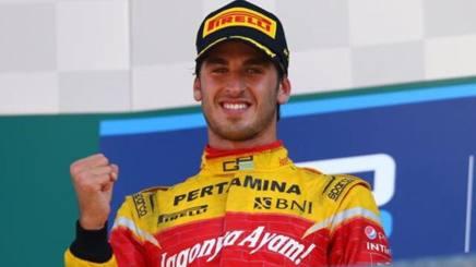 Antonio Giovinazzi, 22 anni, pilota della Prema in GP2