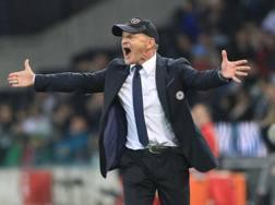 Beppe Iachini. ex tecnico dell' Udinese. Lapresse