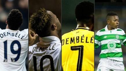 I Fantastici 4 Dembélé: Mousa, Moussa, Ousmane e Karamoko stregano l'Europa