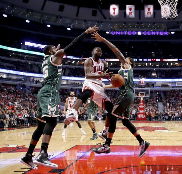 Chicago ha ceduto 93-91 a Milwaukee. Ap