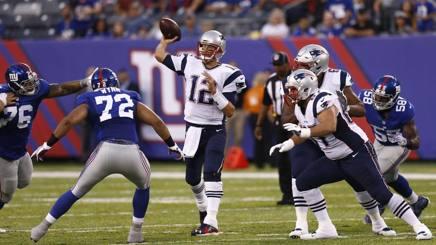 Tom Brady dei New England Patriots AFP