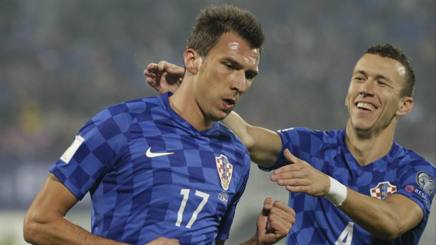 "Russia 2018, tripletta di Mandzukic, De Biasi solo in testa. Tanti gol ""italiani"""