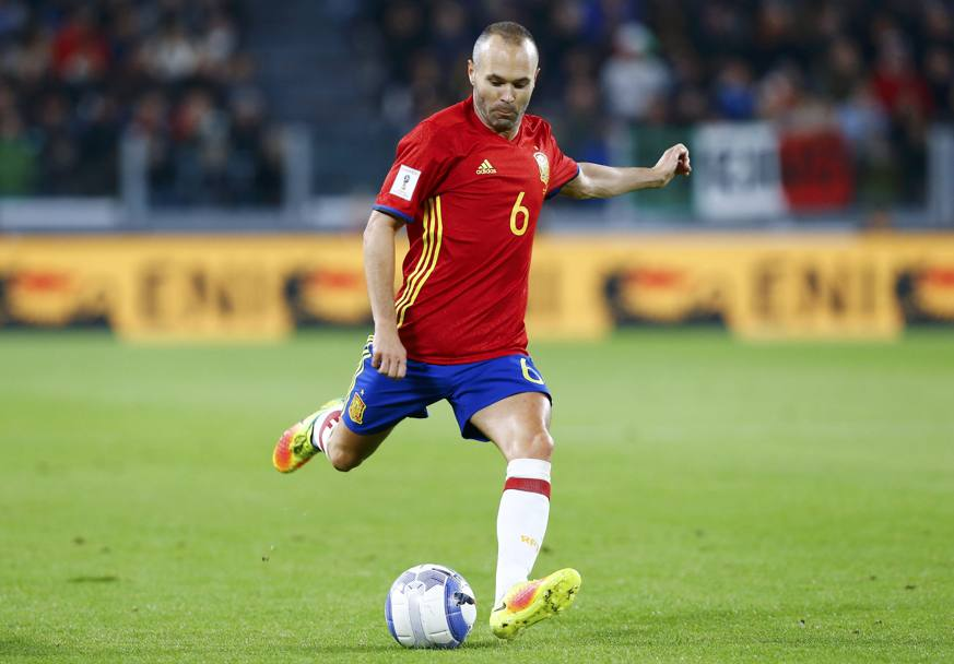 Andres Iniesta, 32 anni. REUTERS