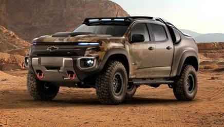 Il pick-up Chevrolet Colorado ZH2