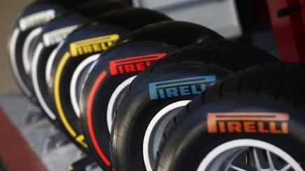 Le Pirelli per la Formula1. LaPresse