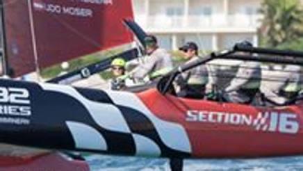 L'equipaggio anglo-svizzero di Section 16