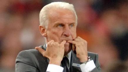 Giovanni Trapattoni, 77 anni, ex calciatore e allenatore. LaPresse
