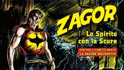La copertina dell'album di figurine di Zagor. Panini