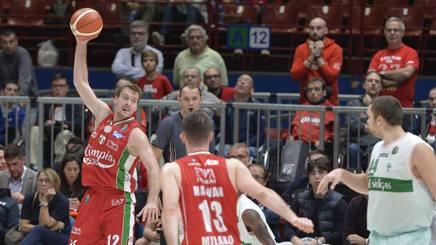 """Basket: Eurolega, Dragic: """"Siamo da prime otto se restiamo uniti"""""""