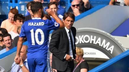 """Chelsea, Hazard attacca Conte: """"Mi fa giocare fuori ruolo"""""""