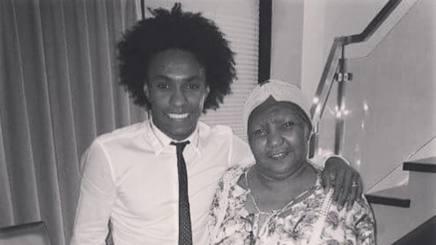 Brasile, Willian poeta per la madre morta di cancro