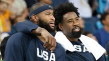 DeMarcus Cousins e DeAndre Jordan hanno vinto l'oro a Rio con Team USA. Getty