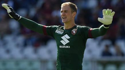 Joe Hart, 29 anni, portiere del Torino. Getty