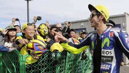 """MotoGP Motegi, Rossi: """"Che soddisfazione, qui la pole conta"""""""
