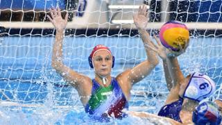 Giulia Gorlero, 26 anni, portiere della nazionale, da quest'anno in forza a Milano, che debutta in A LAPRESSE